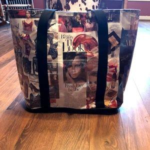 Handbags - Fashion Magazine Large Tote Bag Ships Same Day